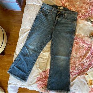 Madewell Cali Demi Boot Jeans *petite*